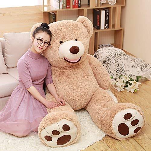 MorisMos Big Plush Giant Teddy Bear Premium Soft Stuffed Animals Light Brown51 Inches