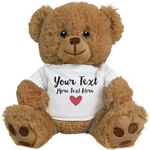 Romantic Custom Teddy Bear Gift 8 Inch Teddy Bear Stuffed Animal