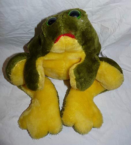 Animal Express Frog Hand Puppet 21 Plush