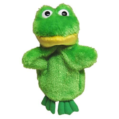 Elka Australia Frog Hand Puppet Stuffed Animal Plush Toy 924cm