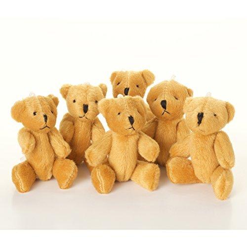 NEW - 5 X Little BROWN Teddy Bear - Cute And Cuddly - Gift Present Birthday Xmas by London Teddy Bears