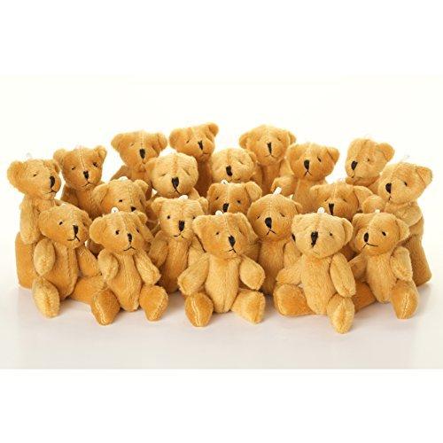 NEW Cute And Cuddly Little BROWN Teddy Bear X 25 - Gift Present Birthday Xmas by London Teddy Bears