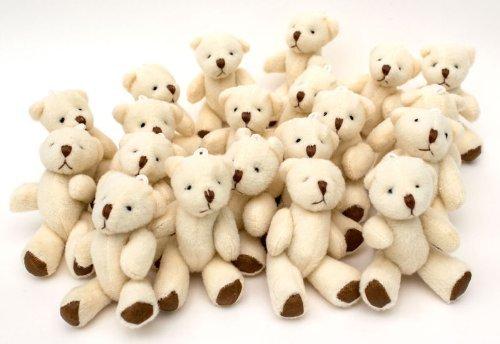 NEW Cute And Cuddly Little Teddy Bear X 10 - Gift Present Birthday Xmas by London Teddy Bears