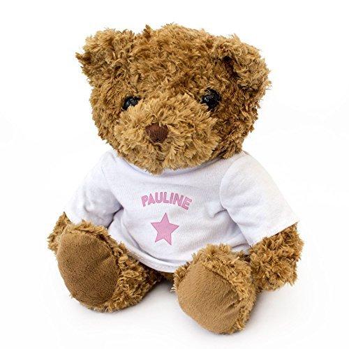 NEW - PAULINE - Teddy Bear - Cute And Cuddly - Gift Present Xmas Birthday by London Teddy Bears