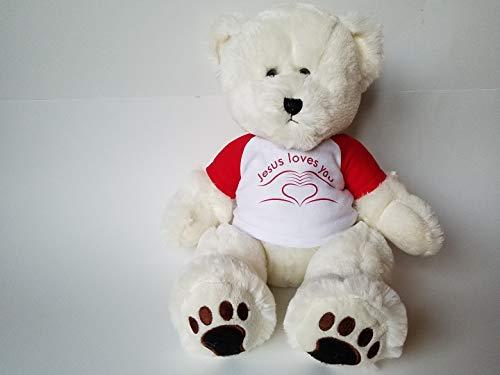 15 Sitting Cream Teddy Bear