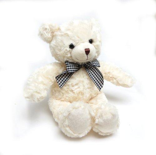 Fiesta Toys Cream Teddy Bear with Ribbon
