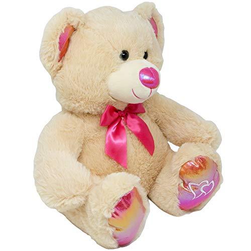Muchai Innovations Teddy Bear Stuffed Animal Plush  Large Cuddly Huggable 20 Inches Brown Cream