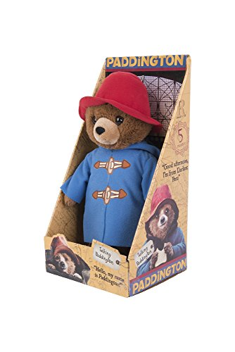 12 Paddington Bear Talking Soft Toy