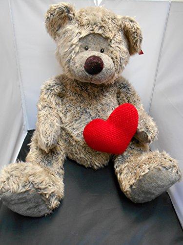 Russ Smooches 32 Teddy Bear with Heart