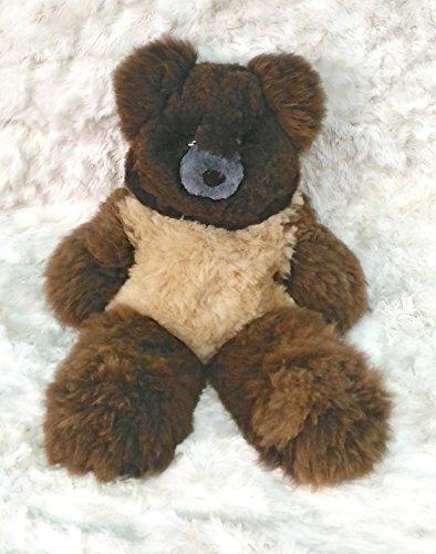 40 Giant Brown Plush Alpaca Teddy Bear 100 Baby Alpaca 40 Inches tall Handmade