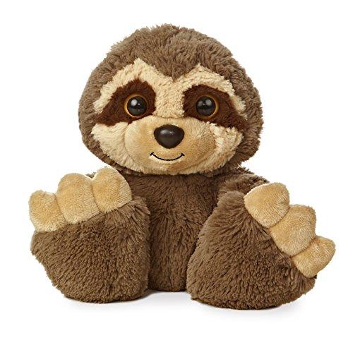Aurora World Taddle Toes Sassafras Sloth Plush
