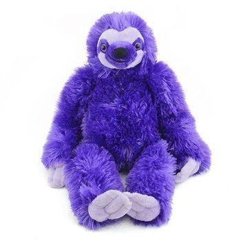 Wild Republic 30 cm Cuddlekins 3-Toed Sloth Plush Toy Purple by Wild Republic