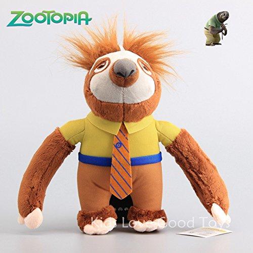 ZOOTOPIA Flash The Sloth Plush Toy Soft Sutffed Animal Doll 10 25cm Teddy Gift