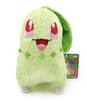Pokemon Center Furry Pokedoll Pokemon Plush Doll - Chikorita by Pokemon Center