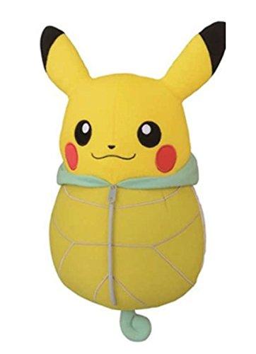 Pokemon Plush Doll Pikachu Nebukuro Sleeping Bag Squirtle 12 Tall