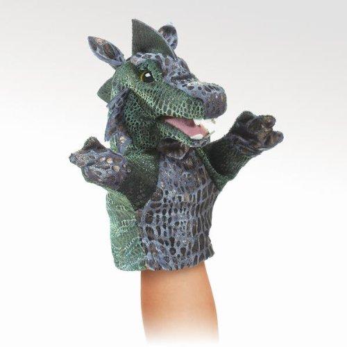 Folkmanis Little Dragon Hand Puppet