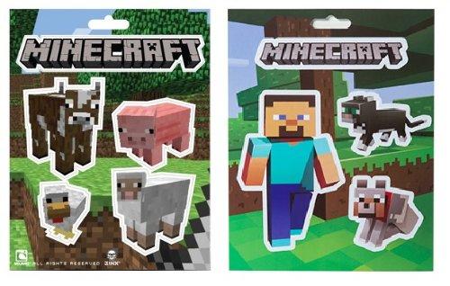 Minecraft Animals Steves Pets Sticker Pack