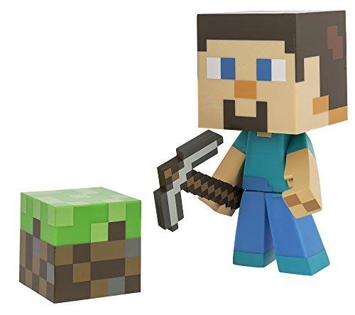 Minecraft Steve Vinyl 6 Limited Edition Figure with Minecraft Diamond Steve Vinyl 6 Diamond Edition Figure
