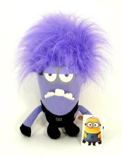 11 Inch Despicable Me 2 Eye Purple Minion Plush Toy