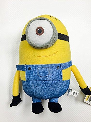 New 2015 Minions Movie 9 to 10 Plush Toy Stuart Minion Plush Exclusive Collection by Universal