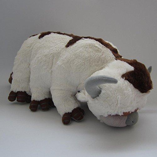 TFOSOVER Anime Avatar The Last Airbender Figure Appa Plush Doll Soft Stuffed Animal Cow Toy 50cm 20