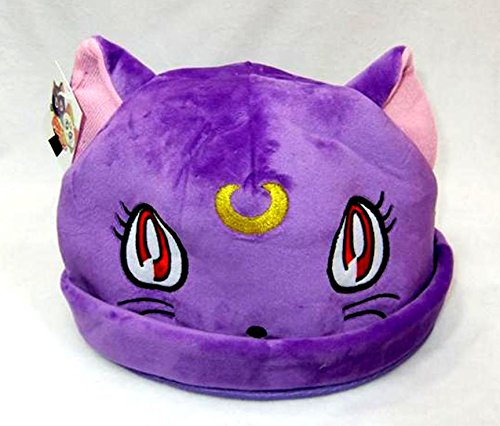 Sailor Moon Luna Plush Hat One Size Fits All