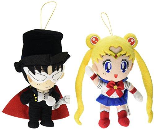 Set of 2 Great Eastern Sailor Moon Plush Doll - Sailor Moon  Tuxedo