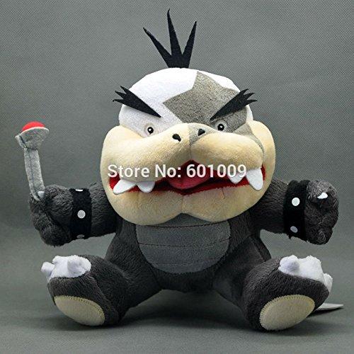 Free Shipping New Cute Super Mario Bros Koopa Morton Jr Koopalings Plush Doll Toy 7