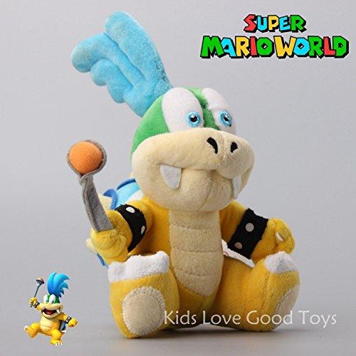 Super Mario Bros 2 Larry Koopa Koopaling Plush Soft Toy Stuffed Animal Doll 8