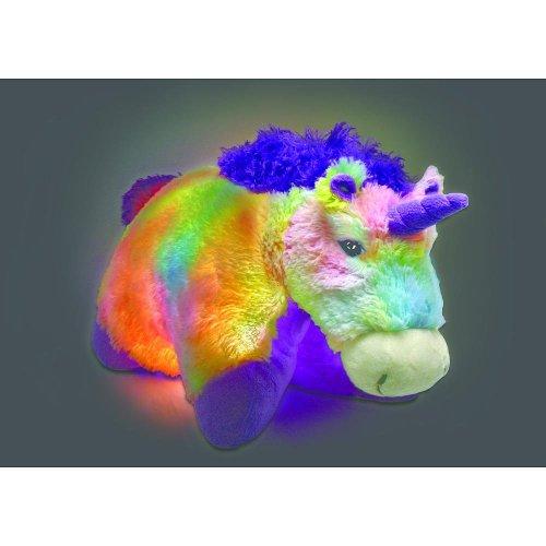 Pillow Pets Glow Pets Rainbow Unicorn 18