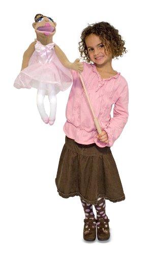 Melissa Doug Full-Body Ballerina Puppet Children Kids Game