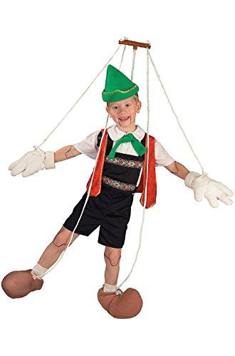 Pinocchio Puppet Child Costume medium 8-10