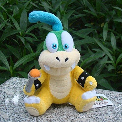 Larry Koopa 6 Super Mario Bros Run Plush Toy Bowser Son Koopalings Cuddly Doll