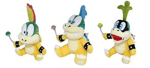 Sanei Set of 3 - Lemmy Larry Iggy Koopa Stuffed Plush