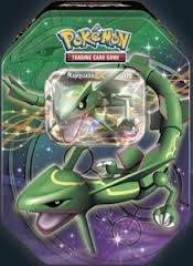 2012 Pokemon Dragons Exalted Rayquaza-EX Legendary Collectors Tin - Pokemon Black White