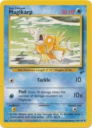 Pokemon - Magikarp 50 - Base Set 2