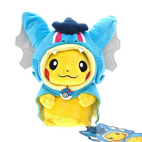 Pokemon Magikarp Pikachu Gyarados Cosplay Plush Stuffed Animal Doll Toy Blue