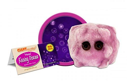 Giant Microbes Kissing Disease Epstein-Barr Plush Toy