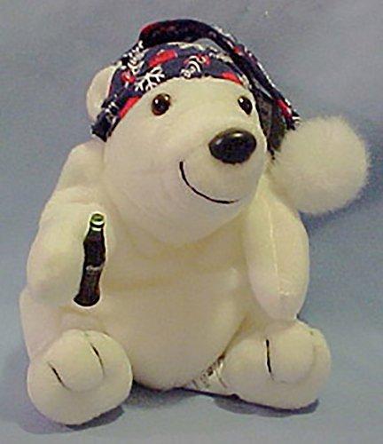 Coca-cola Polar Bear Collectible Plush Bean Bag