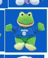 McDonalds Happy Meal Build-A-Bear Workshop Friendly Frog in A Soccer Jersey Stuffed Toy Animal Figure 8 2002