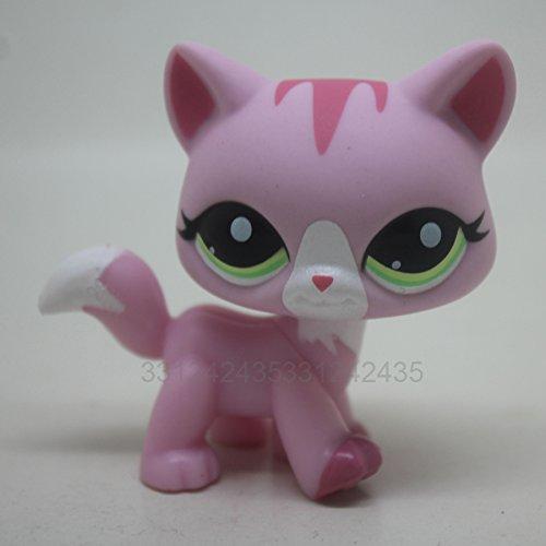 Rare Cat Kitty Pink Girl Gift Toy Animal Figure Pet 1788