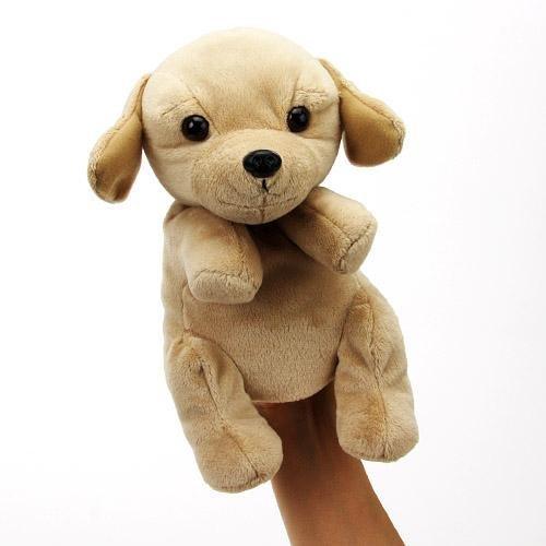 Hand Puppet Retriever HP retriever dog stuffed puppet