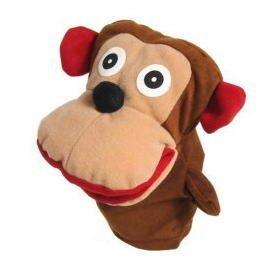 Stuffed puppet animals monkeys 09