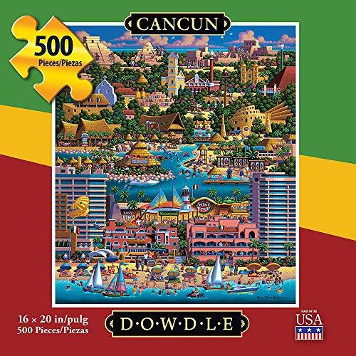 Dowdle Folk Art Puzzle Cancun 500 Pieces