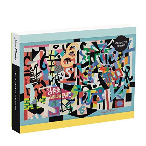 Galison Stuart Davis Puzzle 1000 Piece