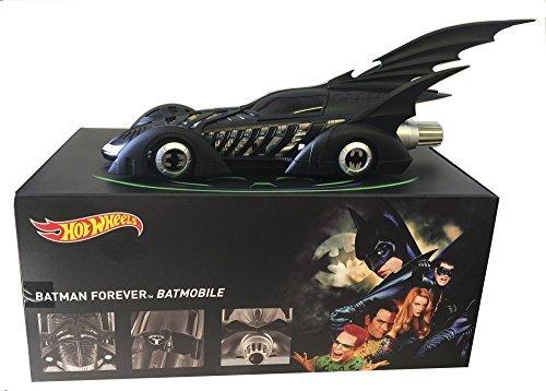 118 SCALE 1995 BATMAN FOREVER BATMOBILE BY HOT WHEELS