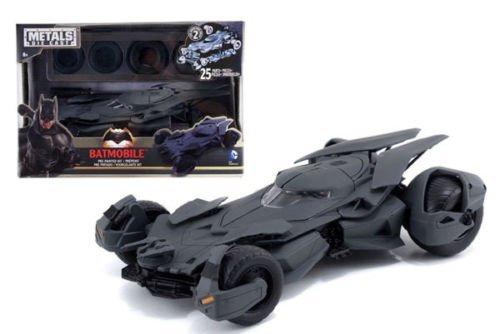 New 124 Batman V Superman Movie - Matte Black Batmobile Model Kit Metals Diecast Model Car By Jada Toys