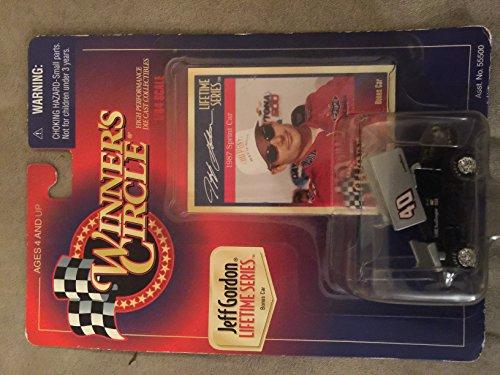 Winners Circle Educational Products - Winners Circle Jeff Gordon Lifetime Series 1987 Sprint Car - 164 Scale