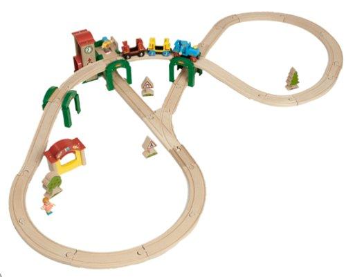 BRIO Track and Stack City Set