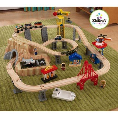 KidKraft 60-Piece Train Play Set